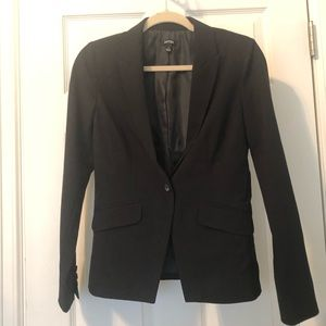 Black women's blazer.